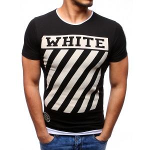 Moderní trička černé barvy