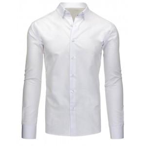 Košile do obleku bílé barvy