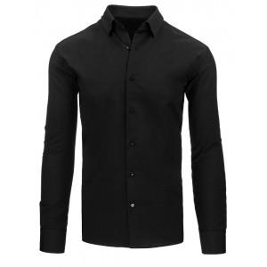Černá košile s dlouhým rukávem