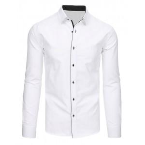 Bílá košile pánská s dlouhým rukávem