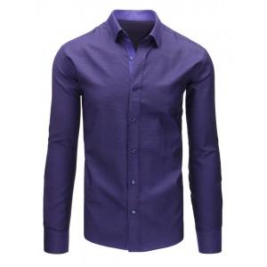 Pánské košile fialové barvy