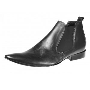 Pánské kotníkové boty černé
