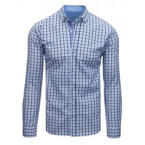 Košile pánská dlouhý rukáv světle modré barvy