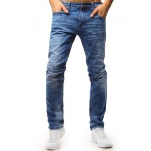 Klasické pánské džíny modré barvy