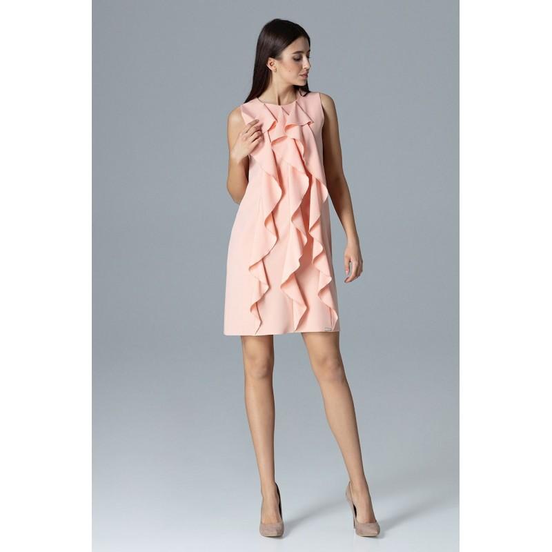 Luxusní plesové šaty růžové barvy 5649207c20
