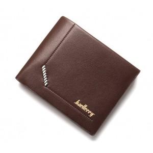 Pánská elegantní peněženka v hnědé barvě