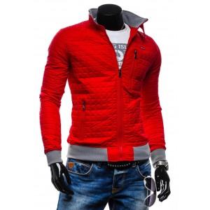 Červené pánské bundy do chladného počasí