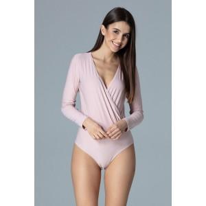 Spodní prádlo dámské body růžové barvy