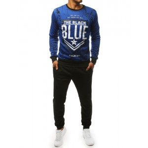 Sportovní souprava pro pány v modré barvě