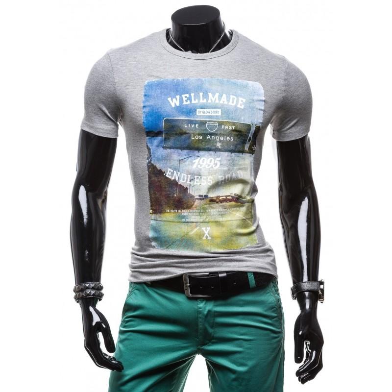 782aa670200 ... trička Pánské značkové trička s potiskem. Předchozí