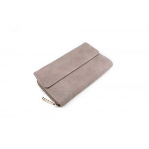 Velká dámská peněženka béžové barvy