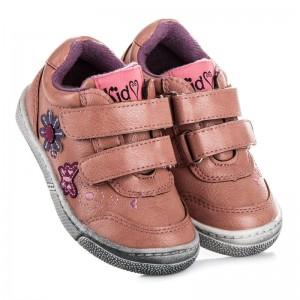 Dětská obuv pro holčičky se zapínáním na suchý zip