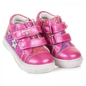 Dětská sportovní obuv růžové barvy pro holky