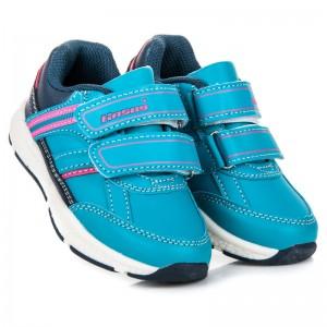 Dětské boty pro kluky v modré barvě