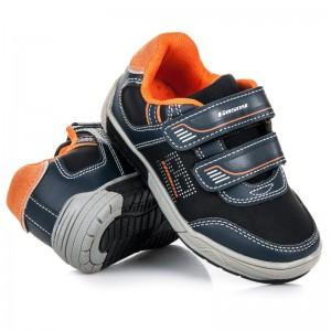 Dětská sportovní obuv pro kluky v černé barvě