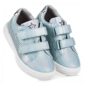 Dětské sportovní boty světle modré barvy