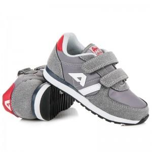 Sportovní boty šedé barvy pro děti