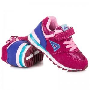 Dětská sportovní obuv růžové barvy pro dívky