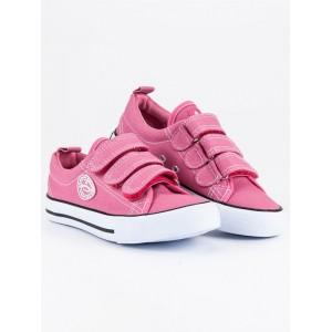 Dětské sportovní tenisky růžové barvy pro holky