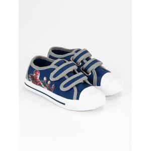 Modré dětské boty se zapínáním na suchý zip