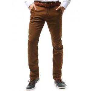 Pánské chino kalhoty v měděné barvě