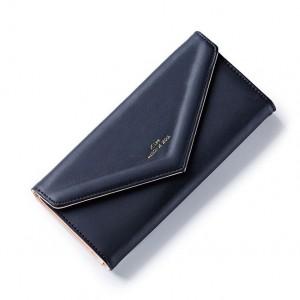Černá stylová peněženka velká
