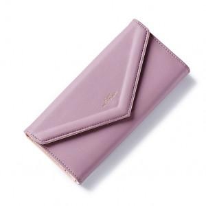 Fialová dámská elegantní peněženka