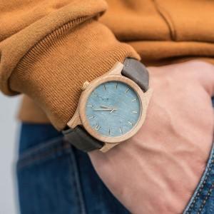Kvalitní dřevěné hodinky pro moderního muže