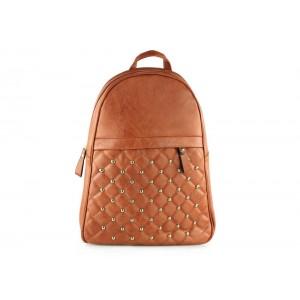 Dámský batoh s prošívaným vzorem