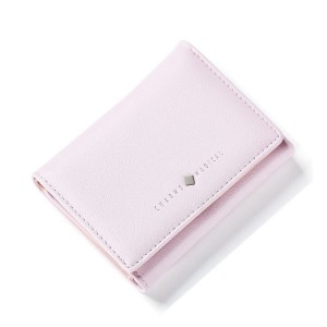 Světle fialová dámská peněženka na bankovky
