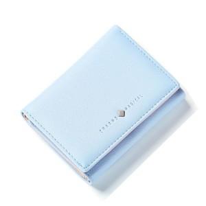 Malá dámská modrá peněženka