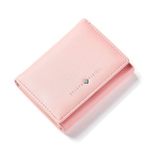 Lososová malá dámská peněženka