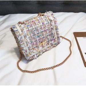 Barevná stylová dámská kabelka přes rameno