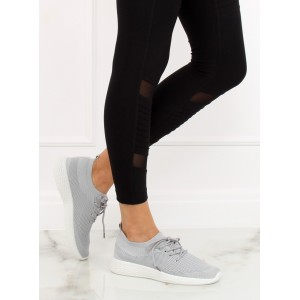 Dámske fitness nasúvacie tenisky s bielou podrážkou