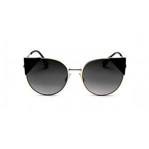 Sluneční brýle černé barvy se stylovými trojúhelníky