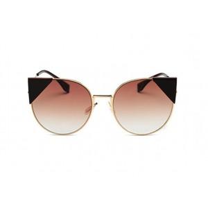 Hnědé kočičí ombre brýle stylové