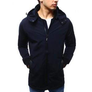 Pánská přechodná bunda tmavě modré barvy