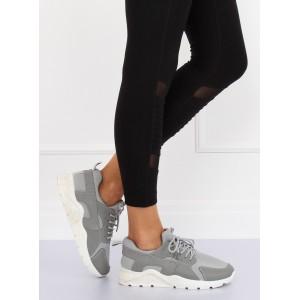 Moderní dámská sportovní obuv šedé barvy na každý den