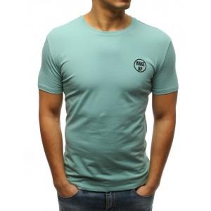 Zelené tričko s krátkým rukávem pro pány