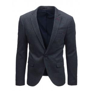 Sportovně elegantní sako pro muže v tmavěmodré barvě
