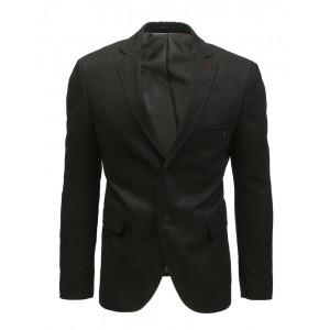 Slim černé pánské sako casual