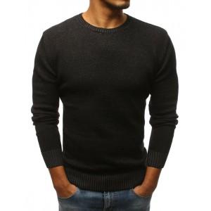 Černý pánský společenský svetr