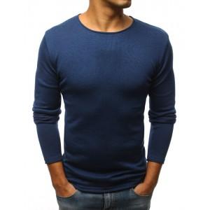 Pánský společenský svetr tmavě modré barvy