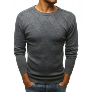 Pánský společenský svetr s elegantním prošitím