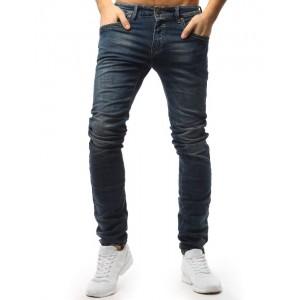 Klasické pánské jeans kalhoty modré barvy