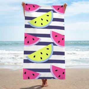 Kvalitní ručník s potiskem melounů