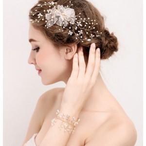 Svatební korunka do vlasů