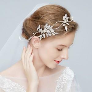 Dámská čelenka do vlasů na svatbu