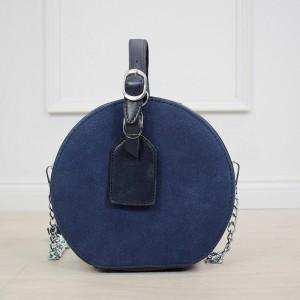 Stylová dámská tmavě modrá crossbody kabelka v módním designu