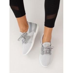 Stylová dámská sportovní obuv šedé barvy